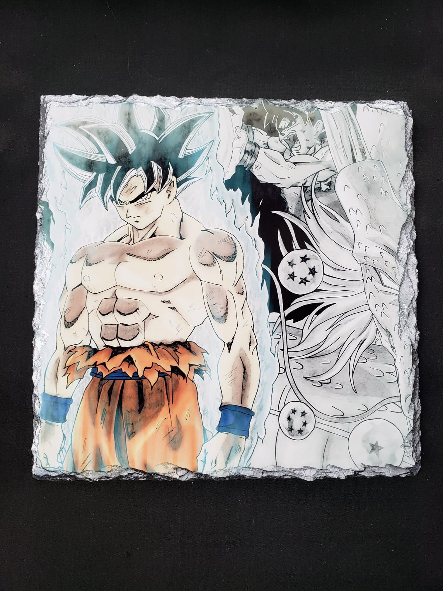 Dragonball's Goku on Slate Tablet!