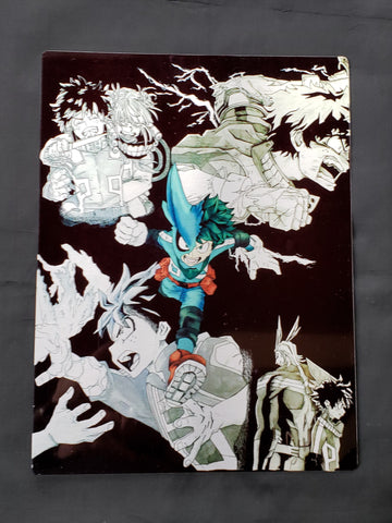 My Hero Academia's Deku  Metal Art Print