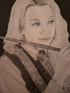 Luna Lovegood Harry Potter 13x16 Print