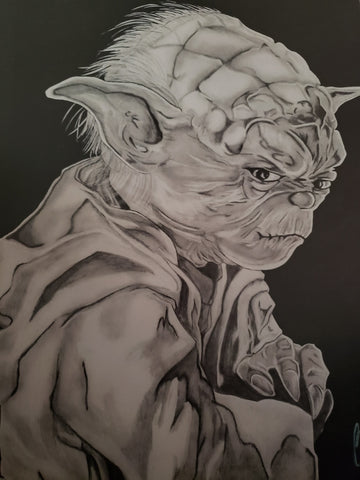 Yoda Star Wars 13x16 Art Print
