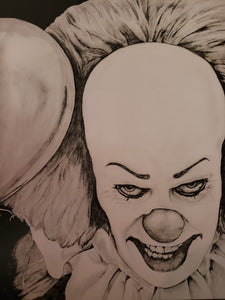 Pennywise Tim Curry 13x16 Print