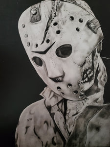 Jason Voorhees Friday the 13th 13x16 Print