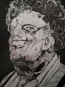 Leatherface Texas Chainsaw Massacre 13x16 Print