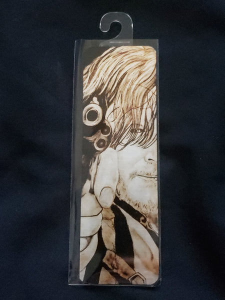 Horror Metal Bookmark