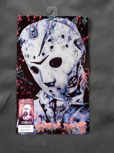 Jason Voorhees Comic Metal Art Print