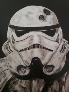 Storm Trooper Star Wars 13x16 Art Print