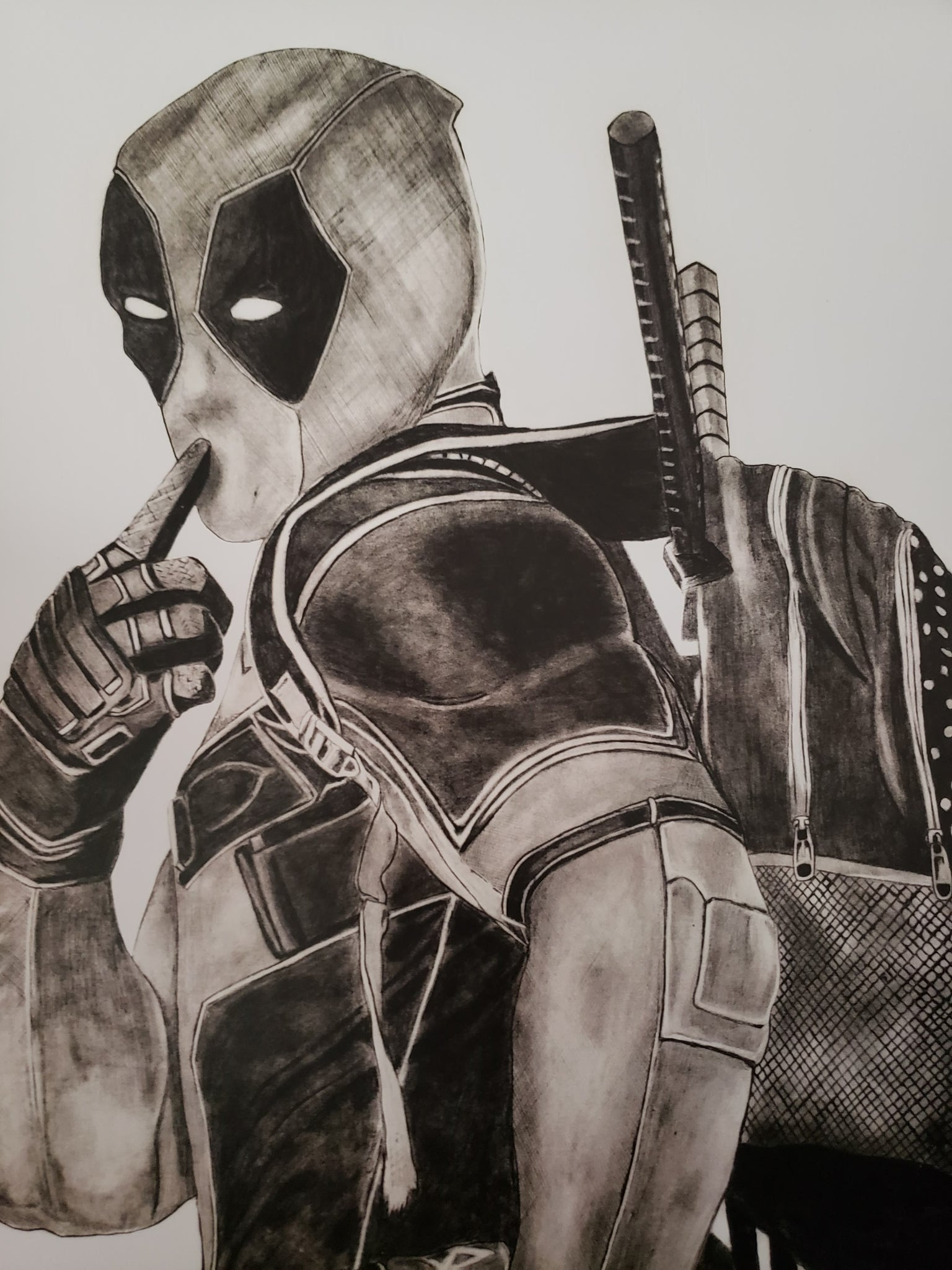 Deadpool 13x16 Art Print