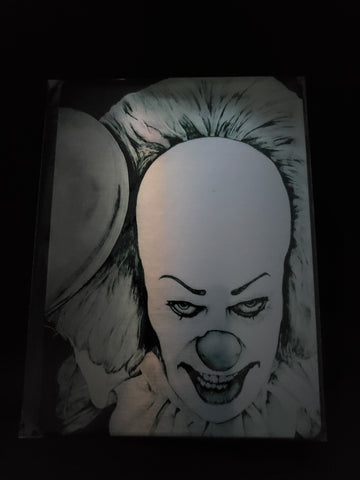 Pennywise Tim Curry Metal Art Print 5x7