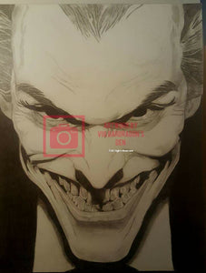 Joker Original Drawing