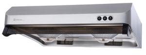 "U3-R Sakura 30"" Range Hood - Stainless Steel - Made in Taiwan"