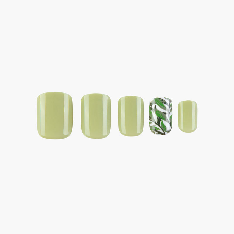 Spring Fling Instant Reusable Press On Nails-1