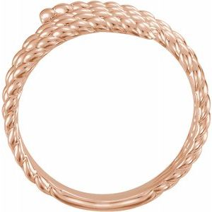 Spiral Wrap Rope Ring