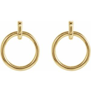 Circle Dangle Earrings