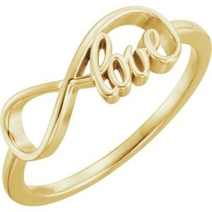 Love Infinity-Inspired Ring
