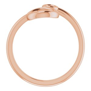 Double Circle Bypass Ring