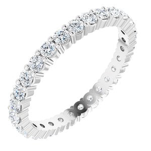 Diamond Round Eternity Band