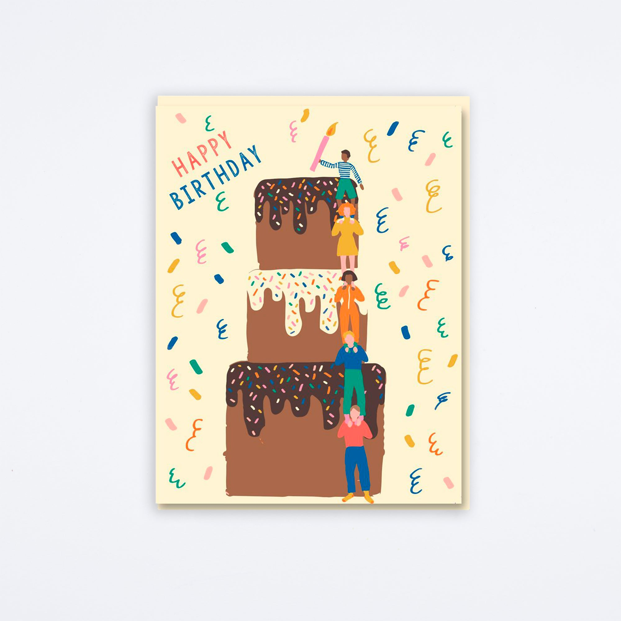 Cake Tower Card