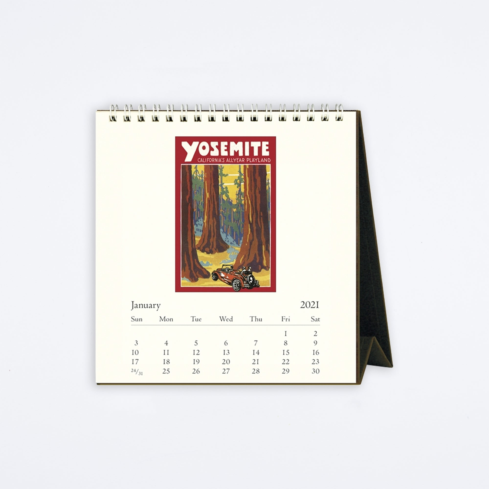 Vintage National Parks Desk Calendar