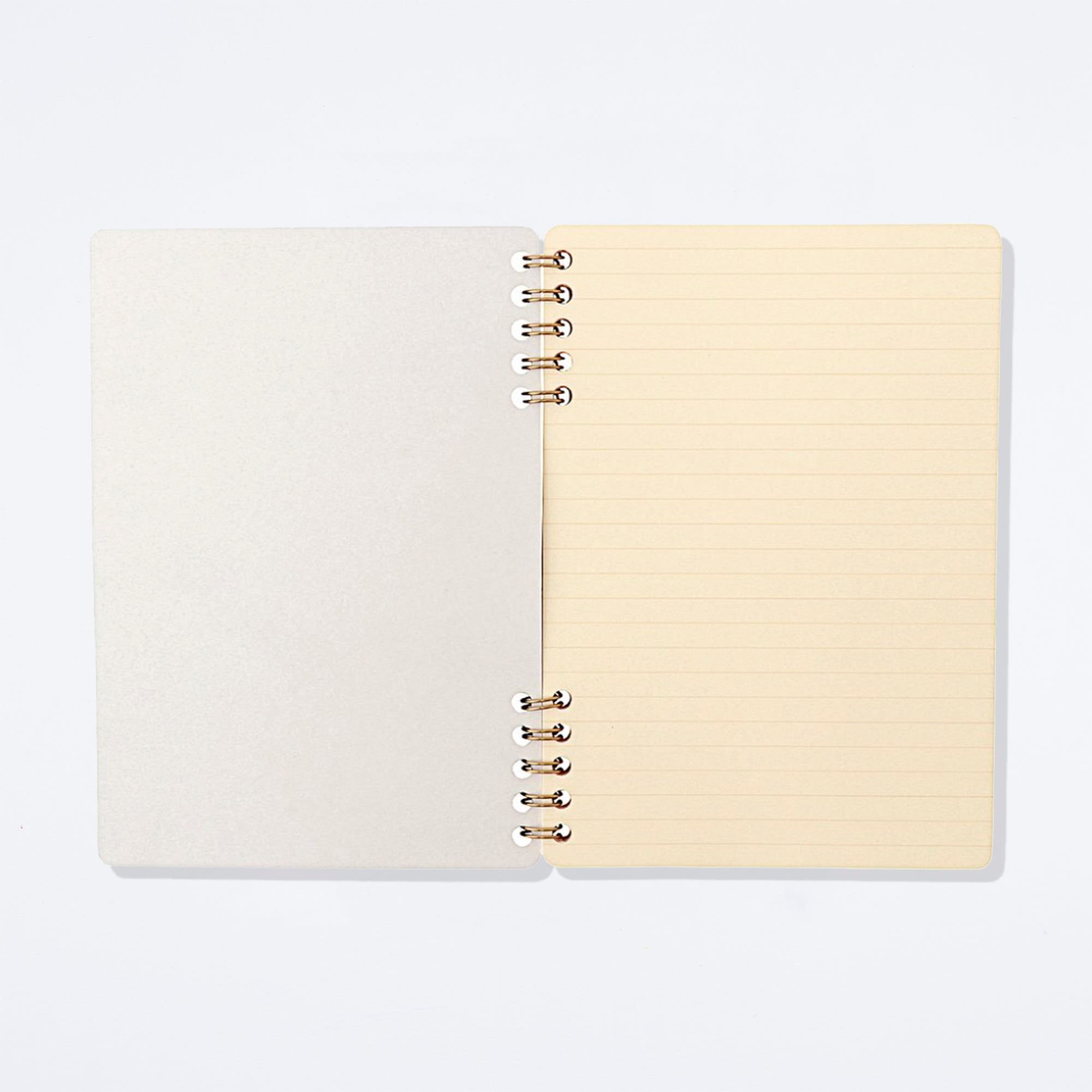 Cinnamon Ringed Notebook