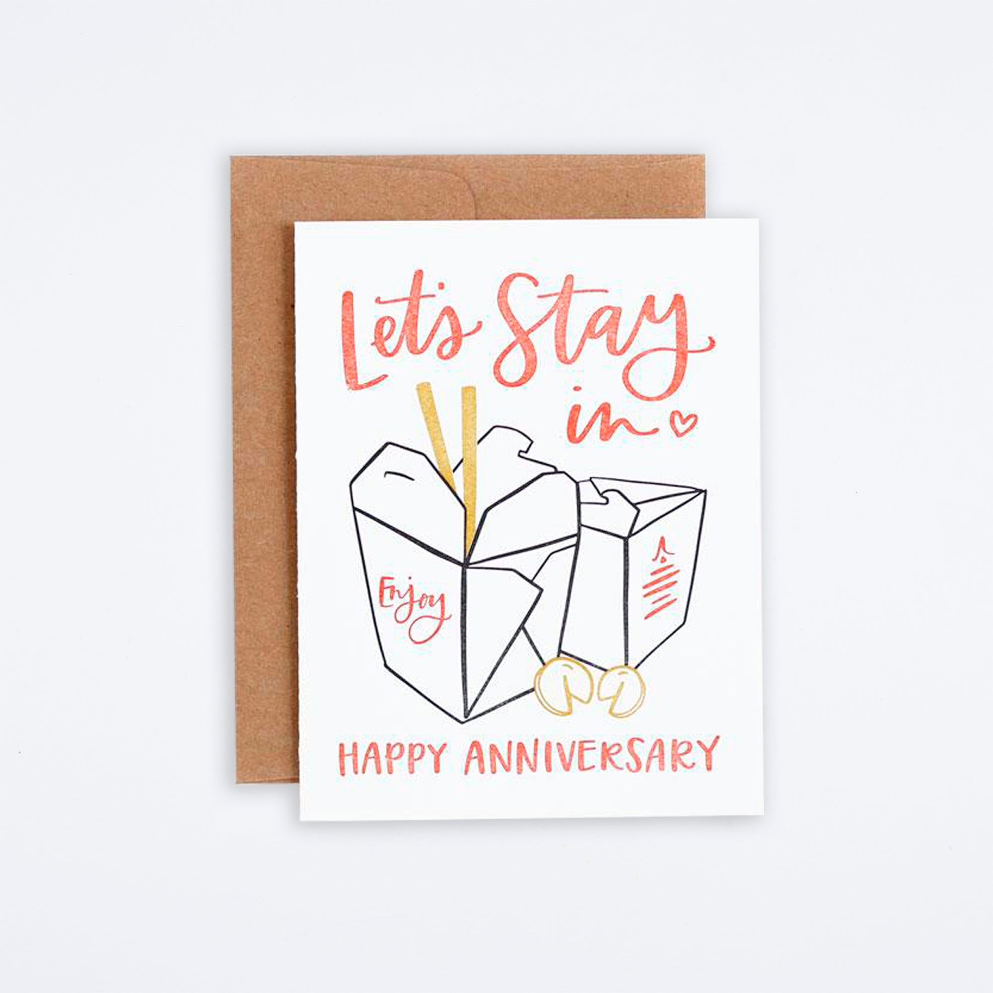 Anniversary Take Out Card