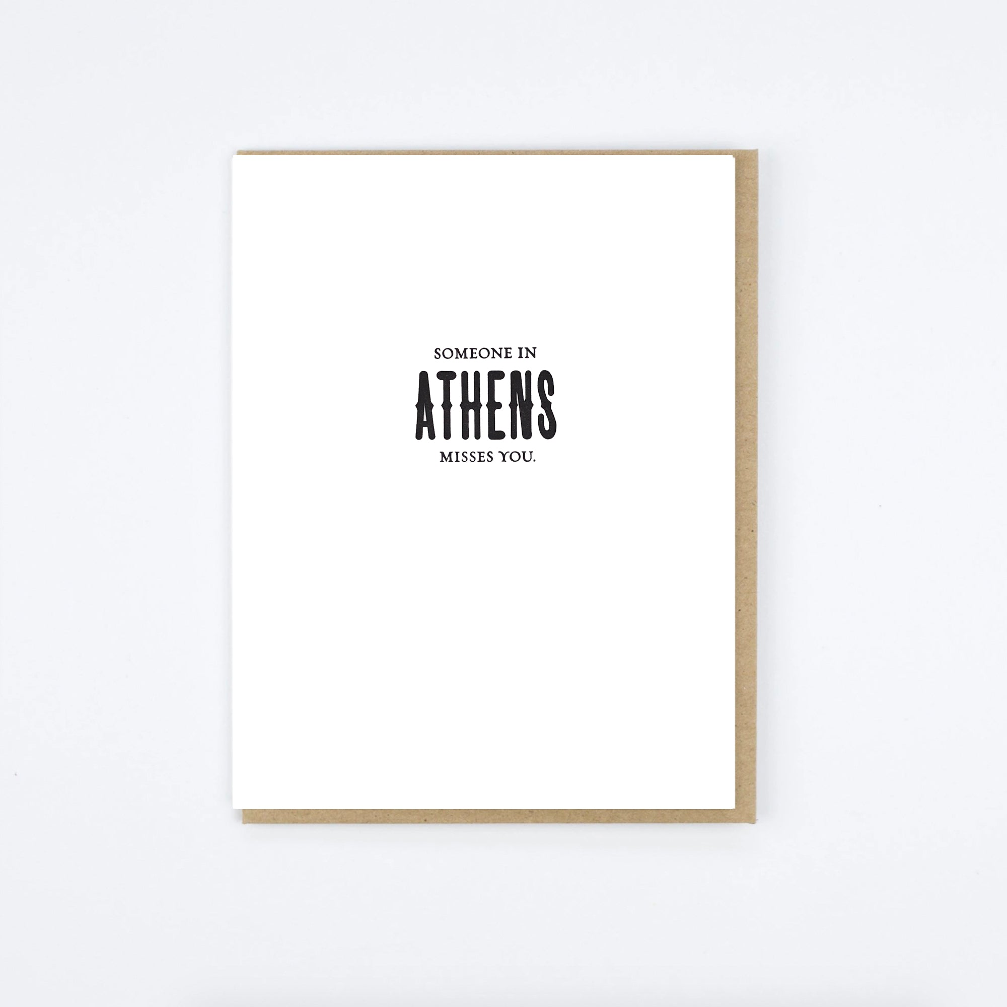 Athens Misses Card