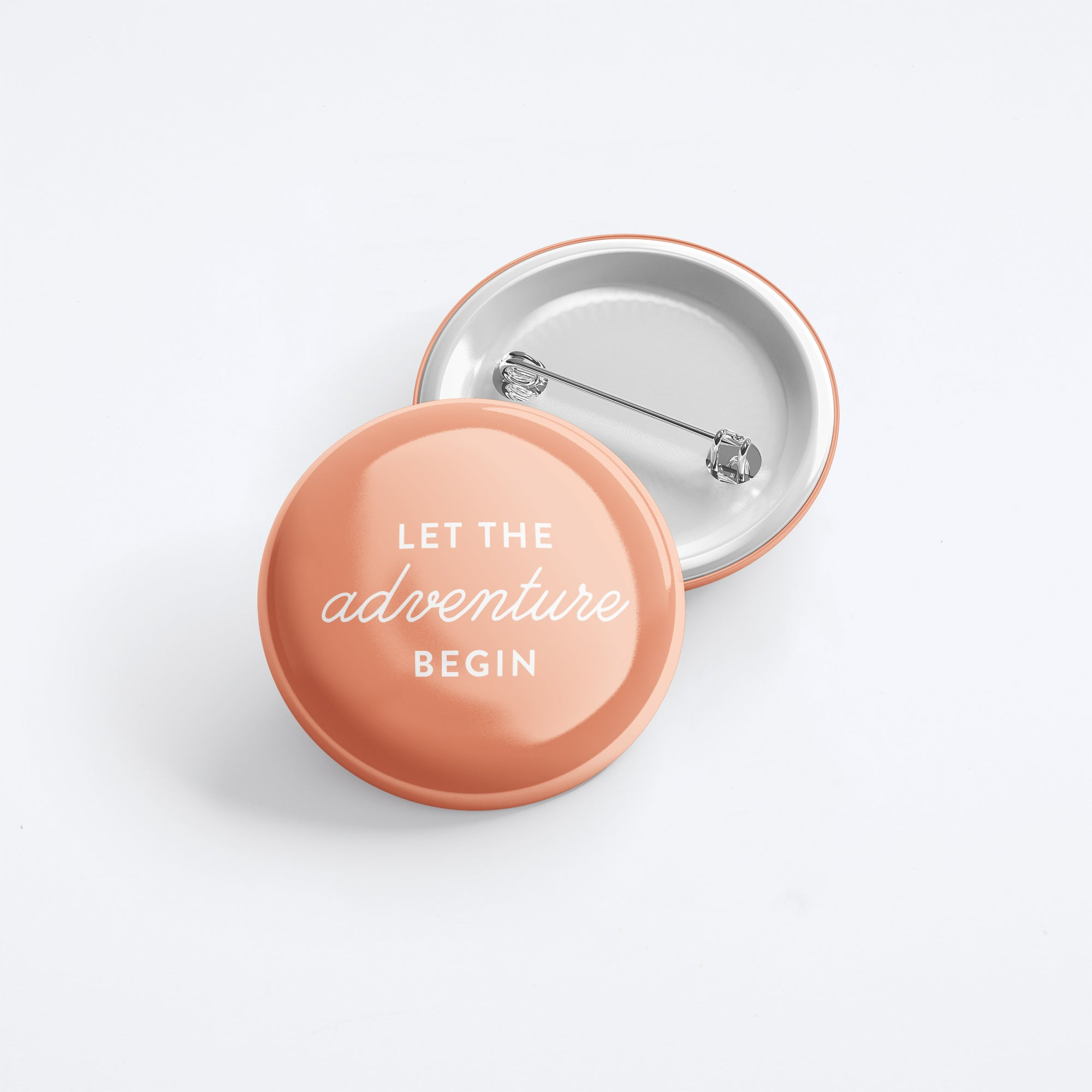 Let The Adventure Begin Button