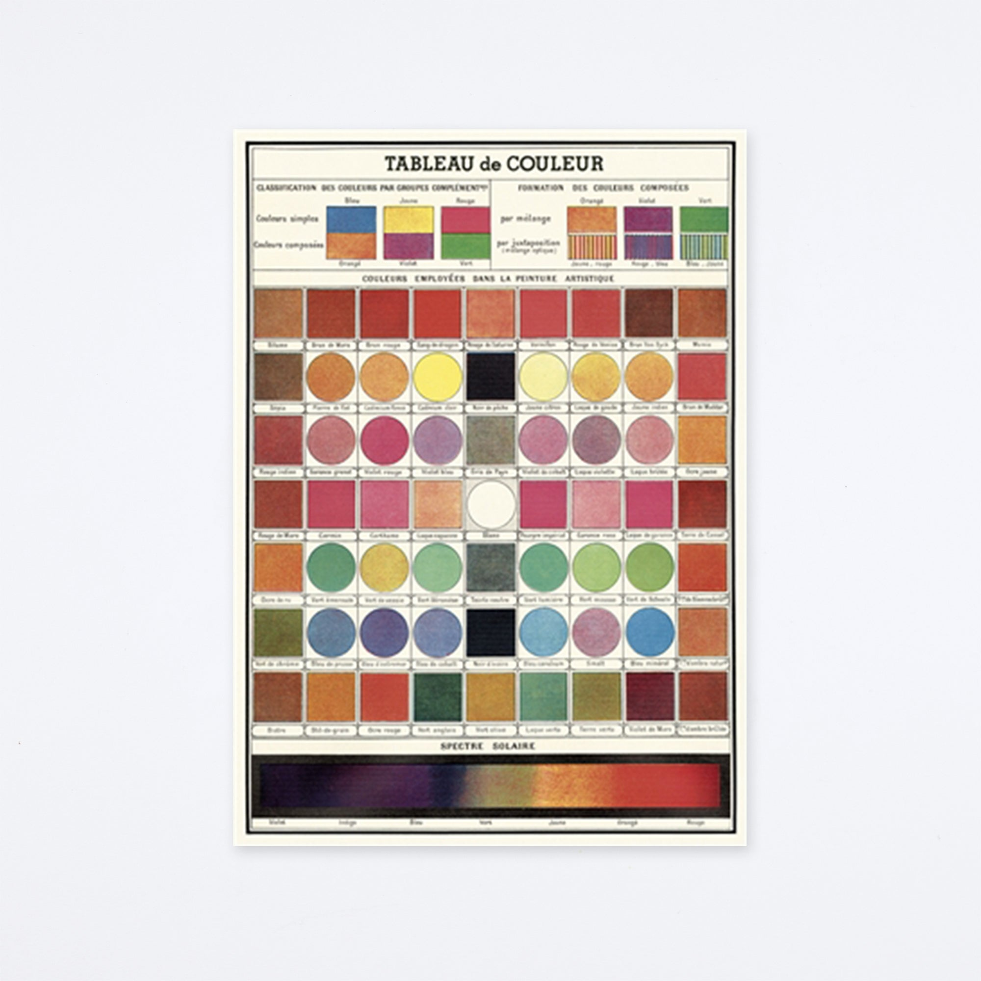 Color Chart Wrap