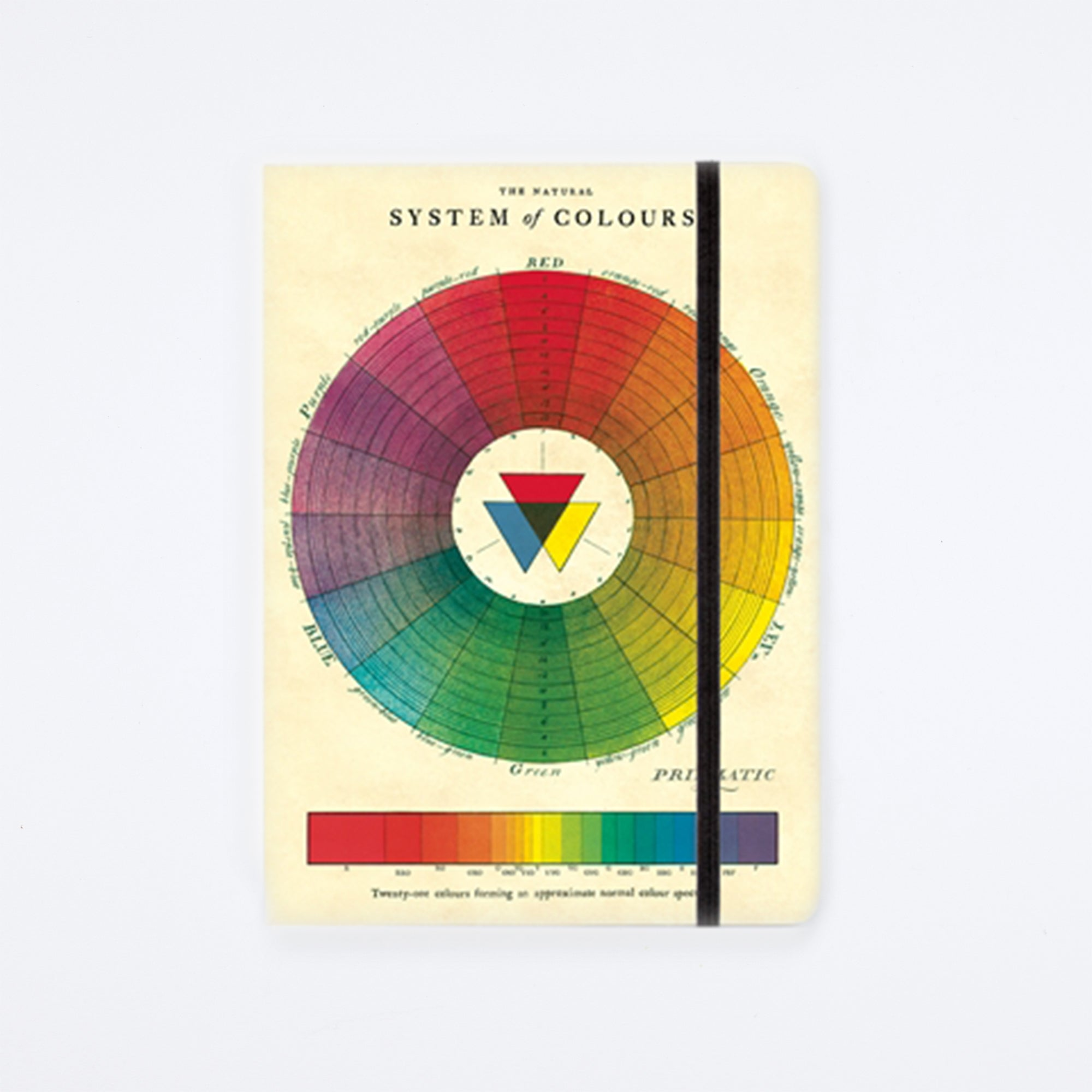Large Color Wheel Notebook