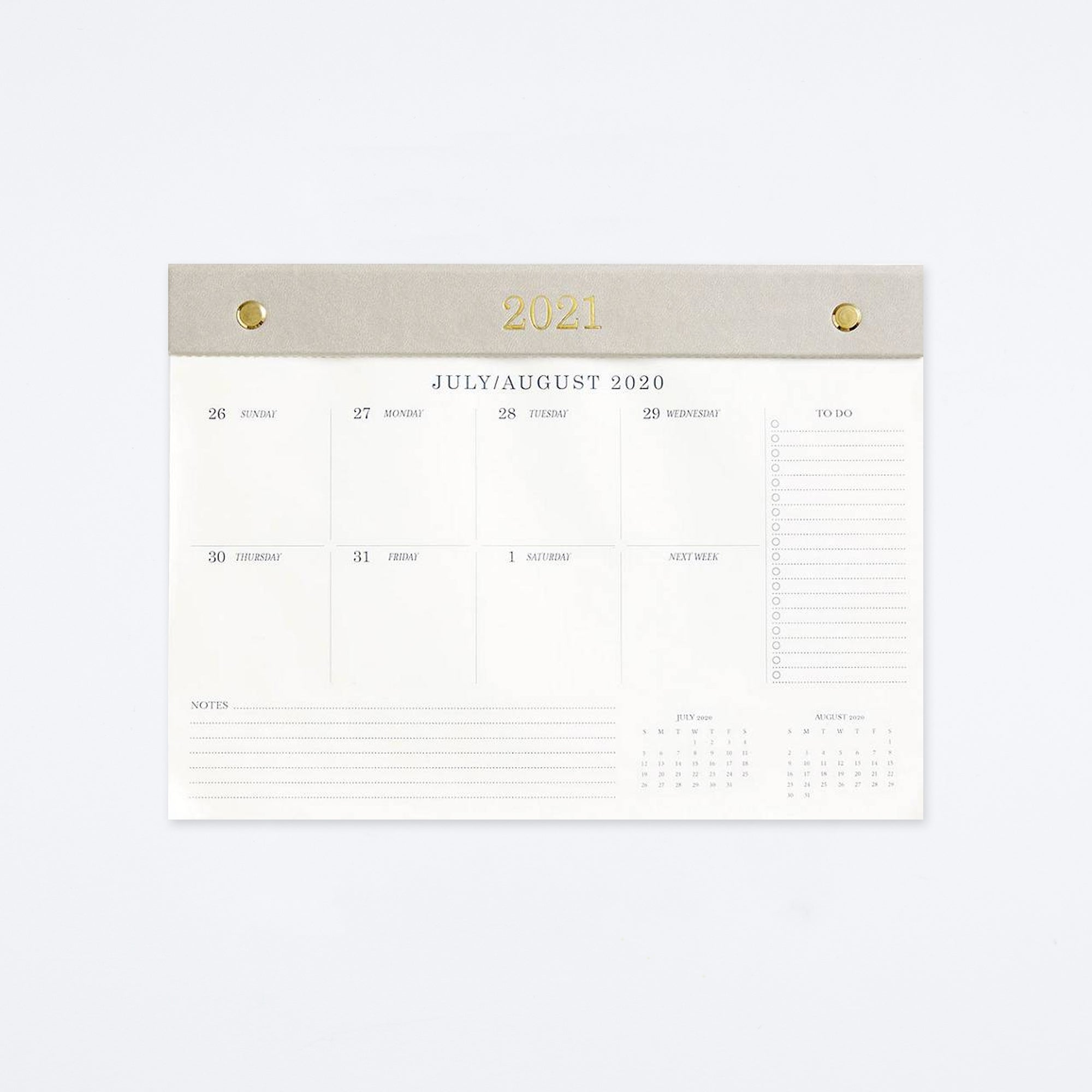 Chicago Avenue Weekly Desk Calendar