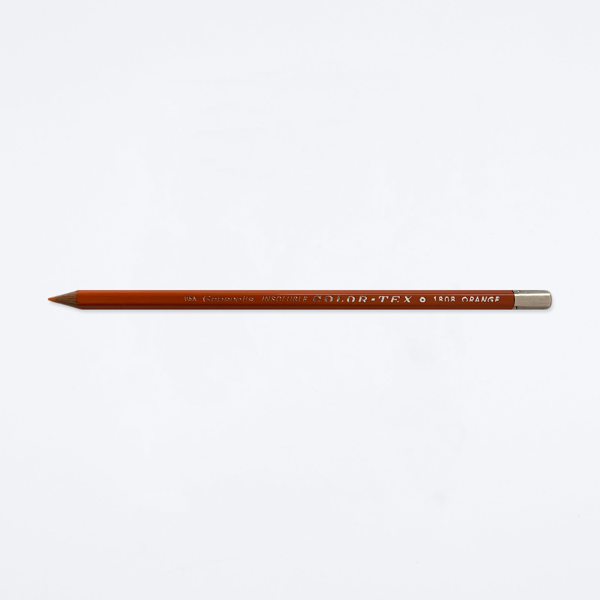 Insoluble Orange Color-Tex Pencil