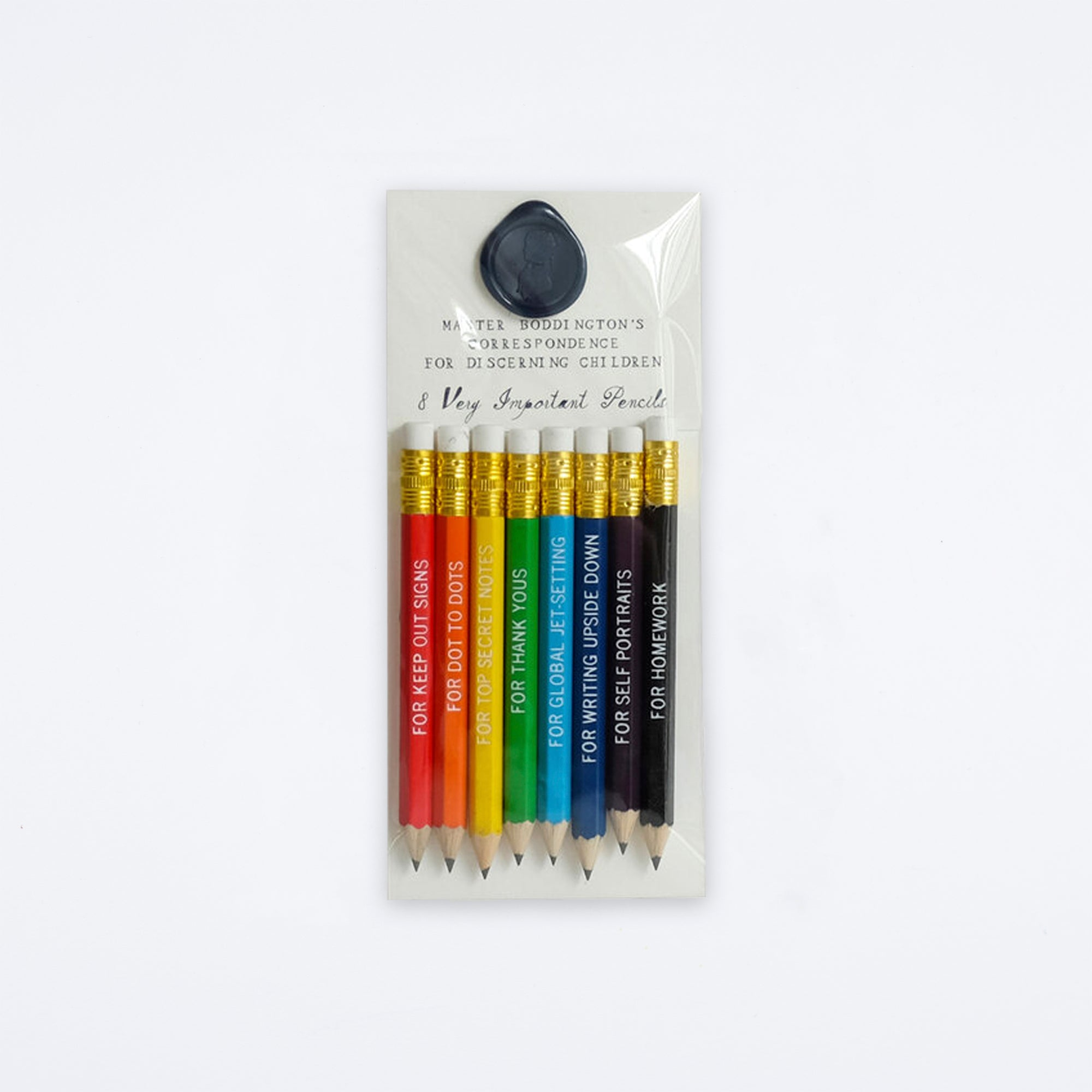 Correspondence Pencils for All Occasions