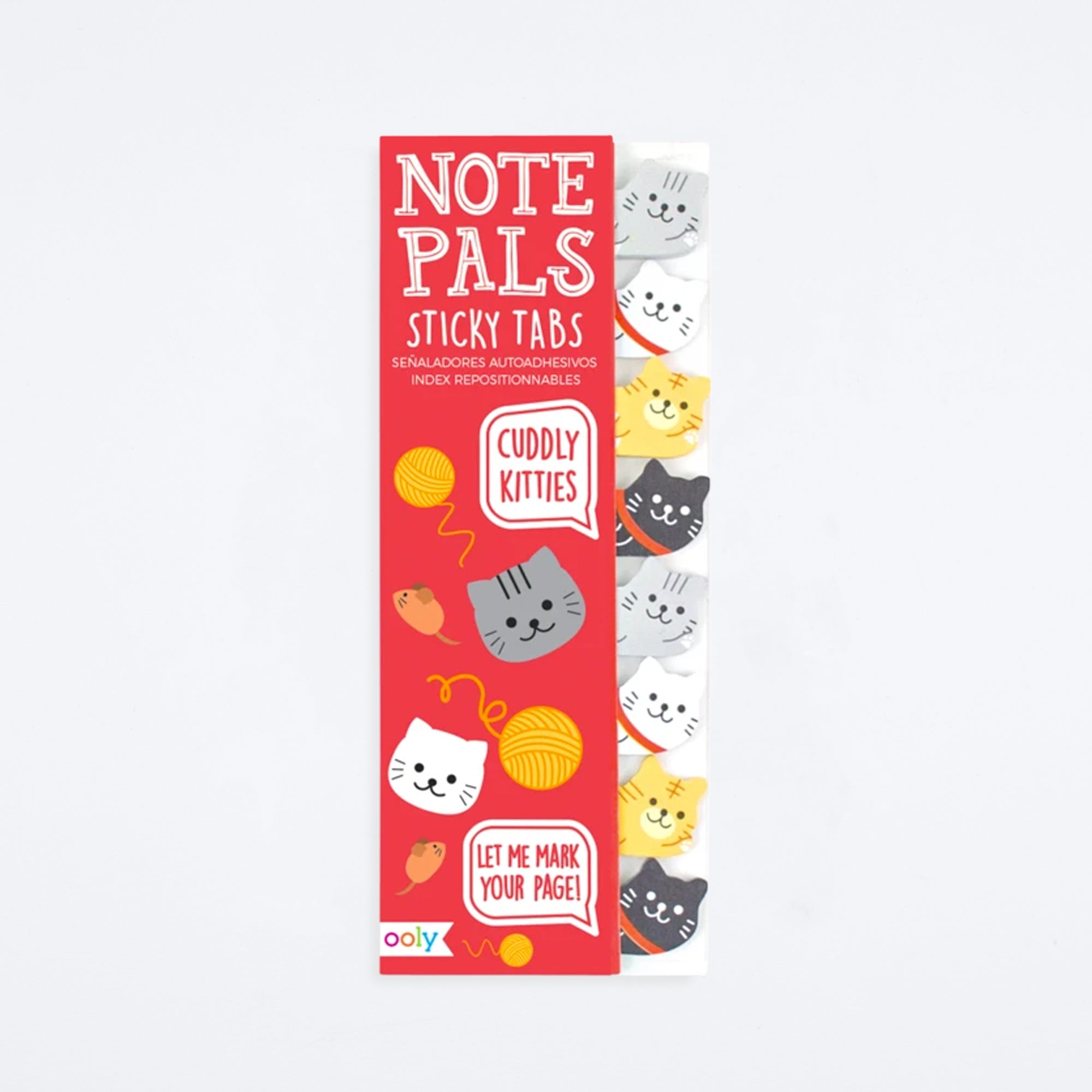 Cuddly Kitties Note Pals Sticky Notes