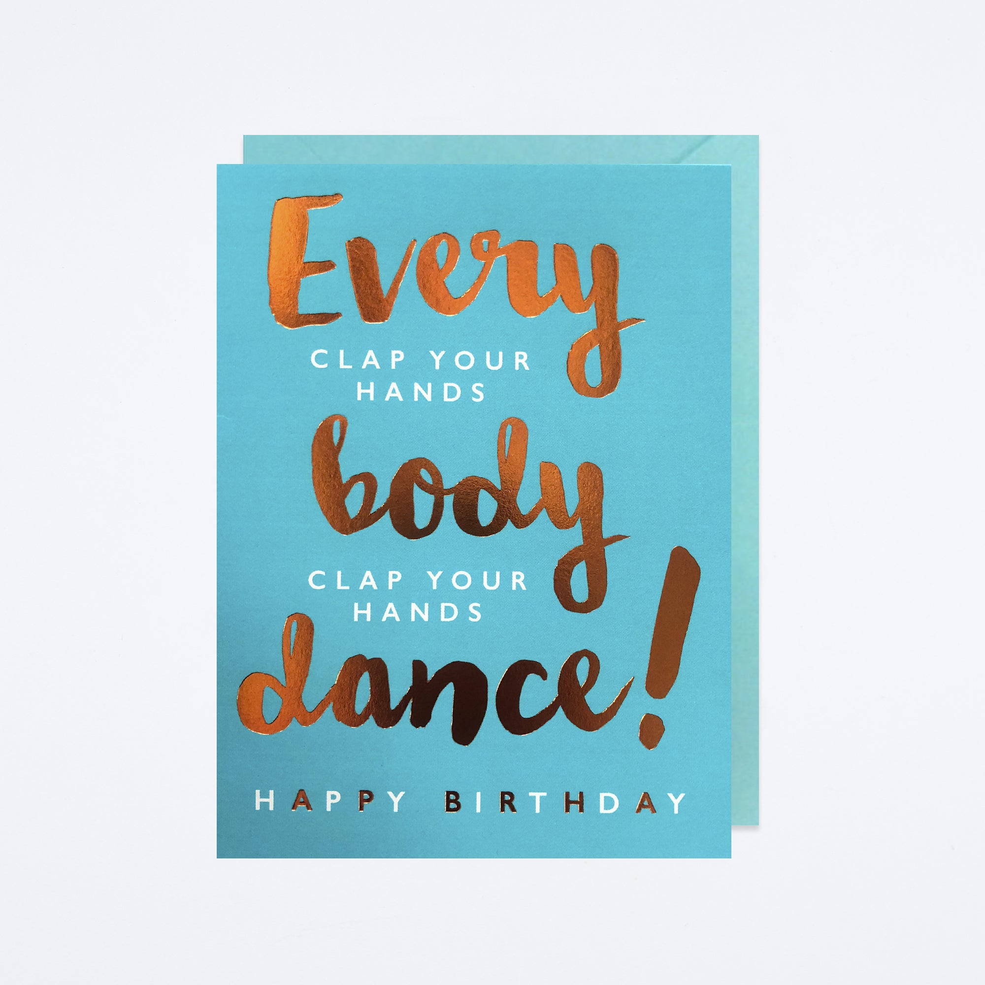 Dance Birthday Card