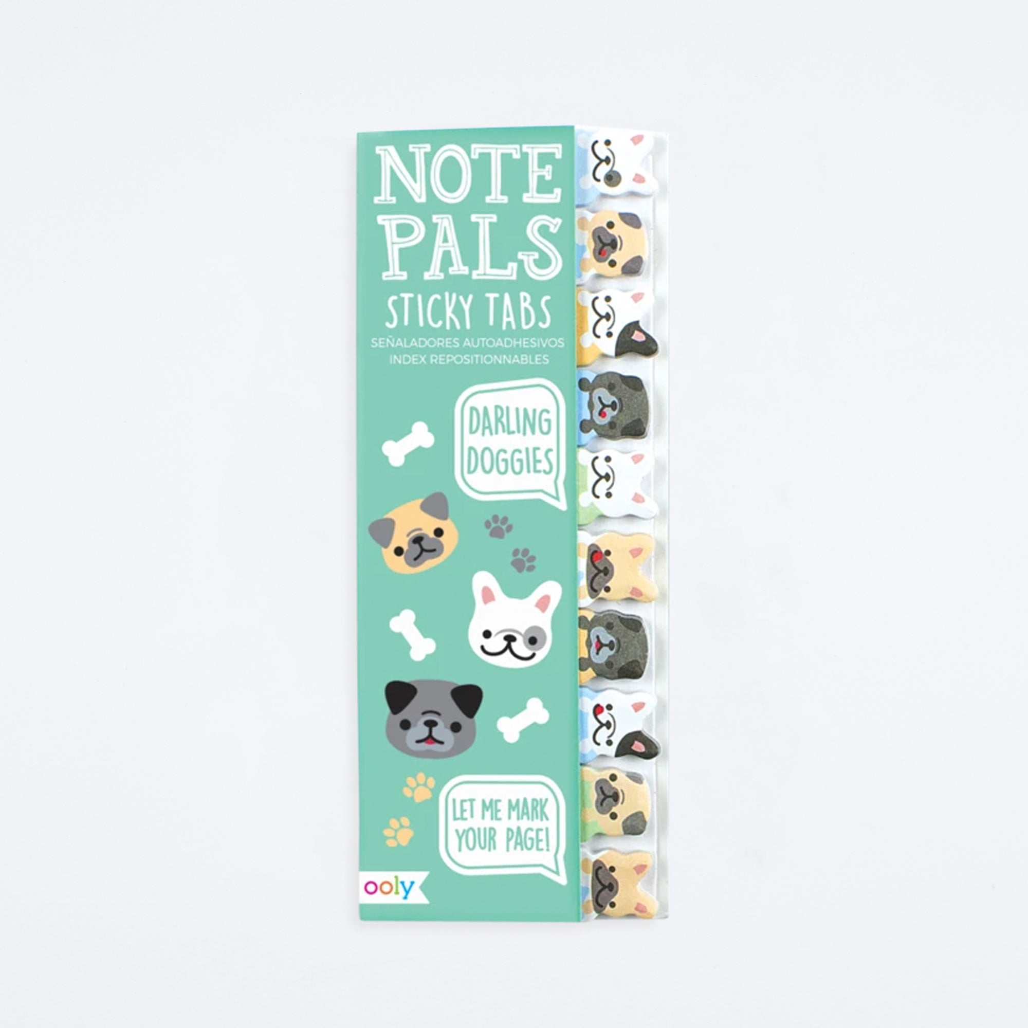 Darling Dogs Note Pals Sticky Notes