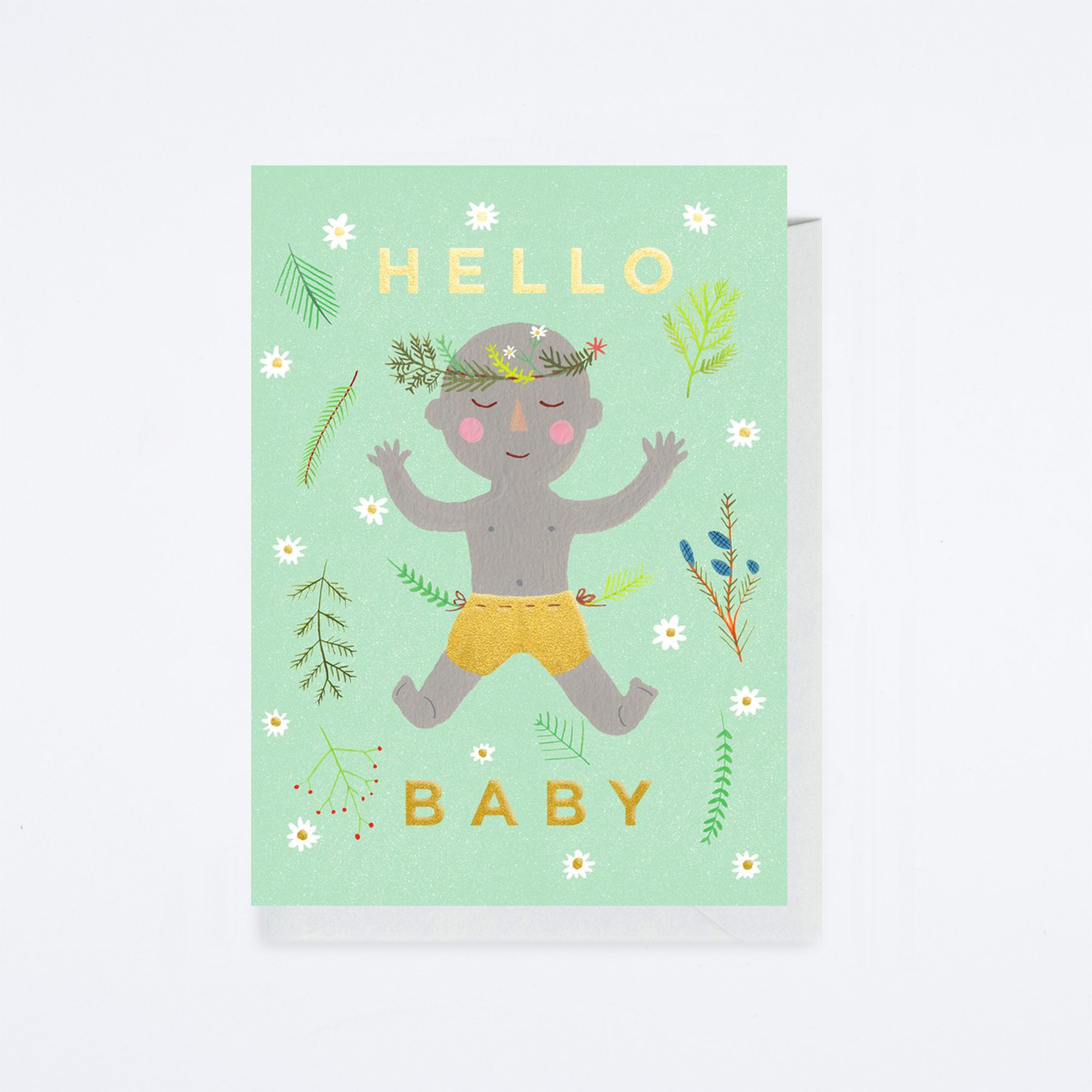 Earth Baby Card