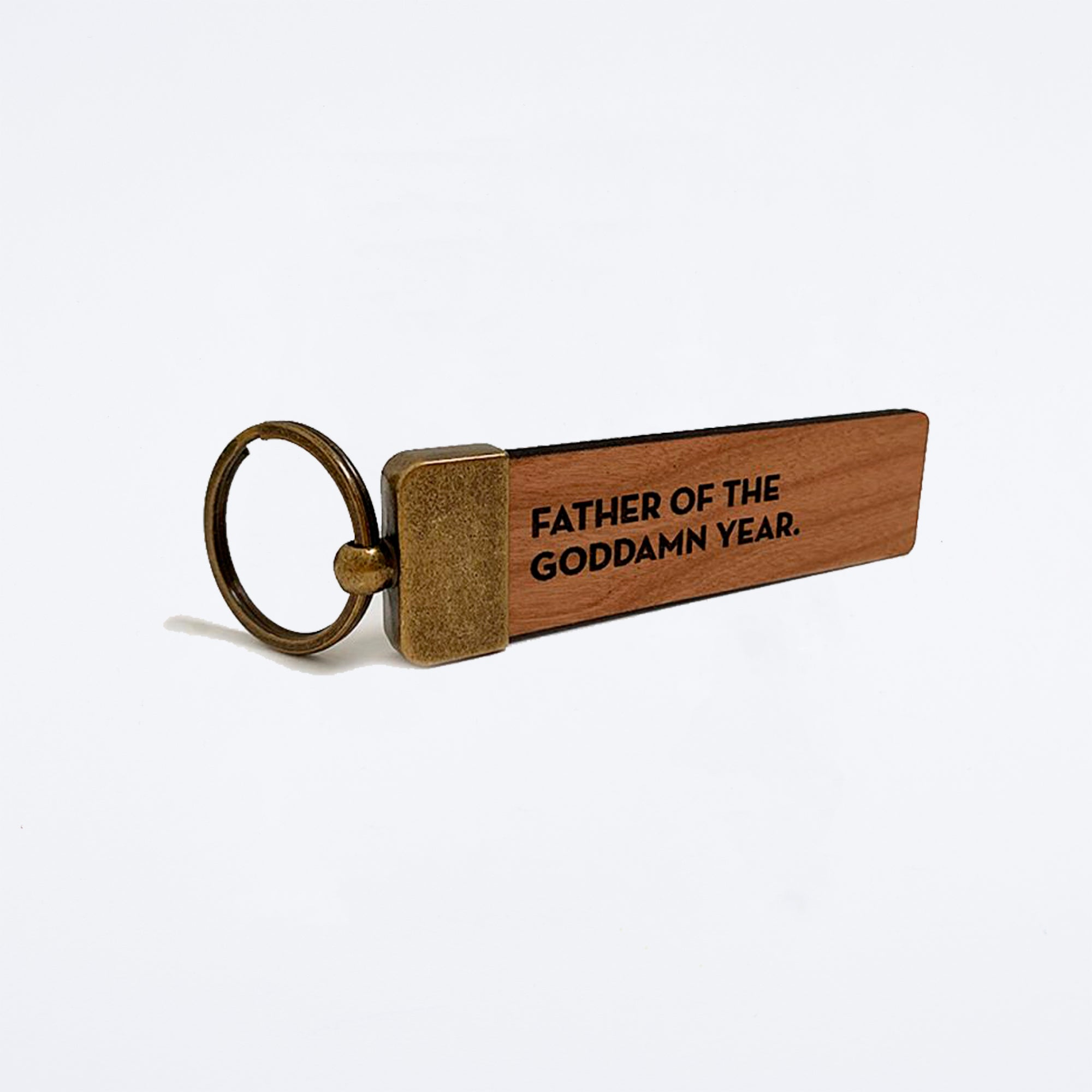 Father of the Year Key Tag