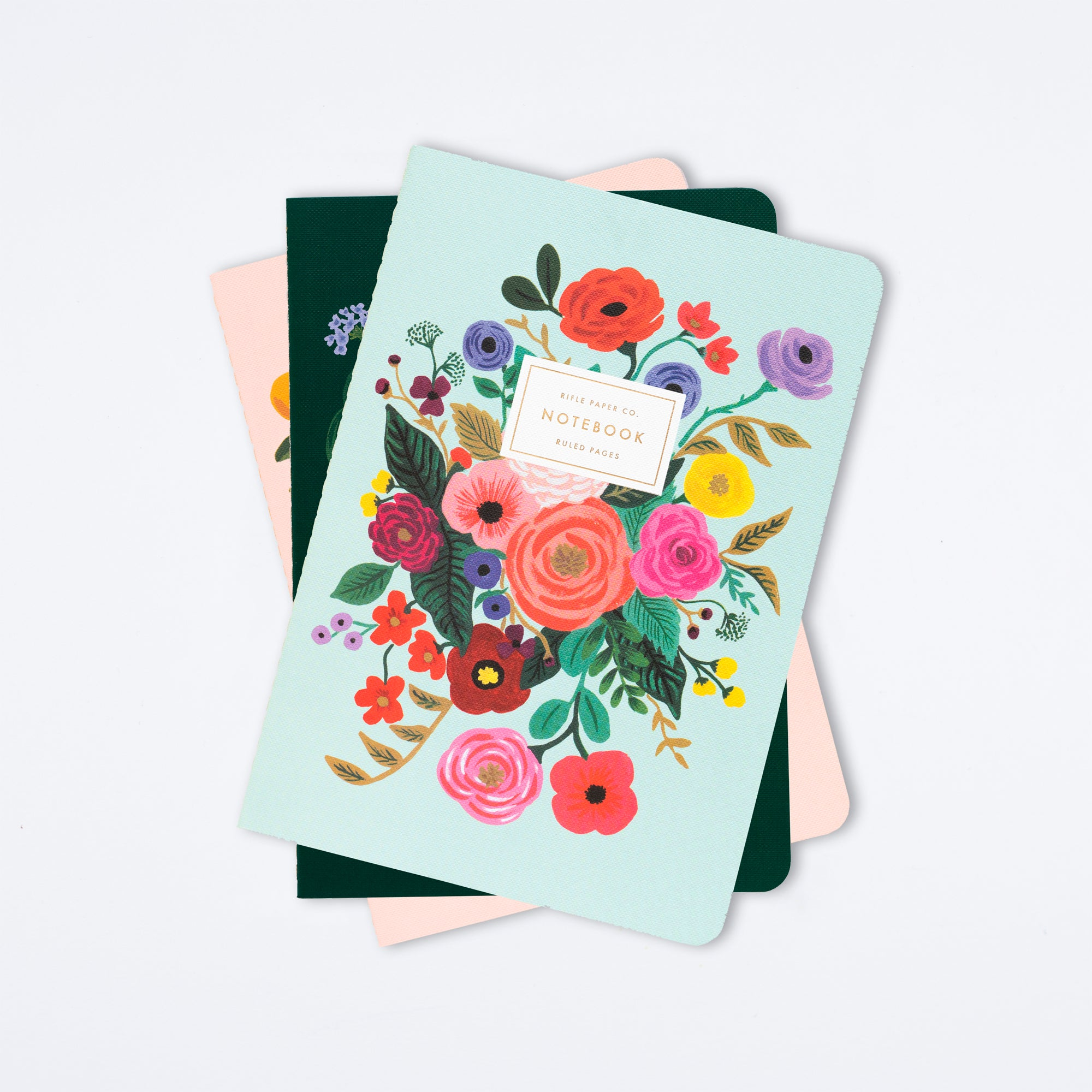 Garden Party Stitched Notebook Set