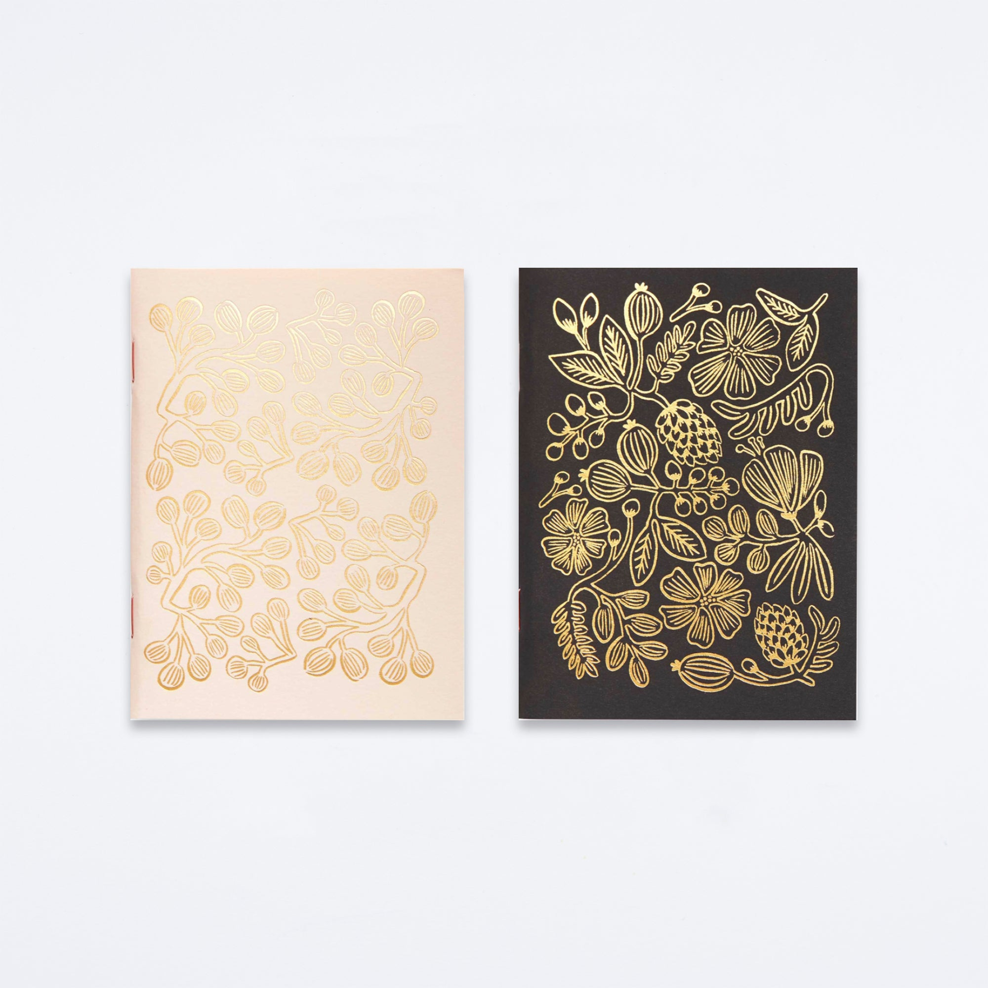 Gold Foil Pocket Notebook Set