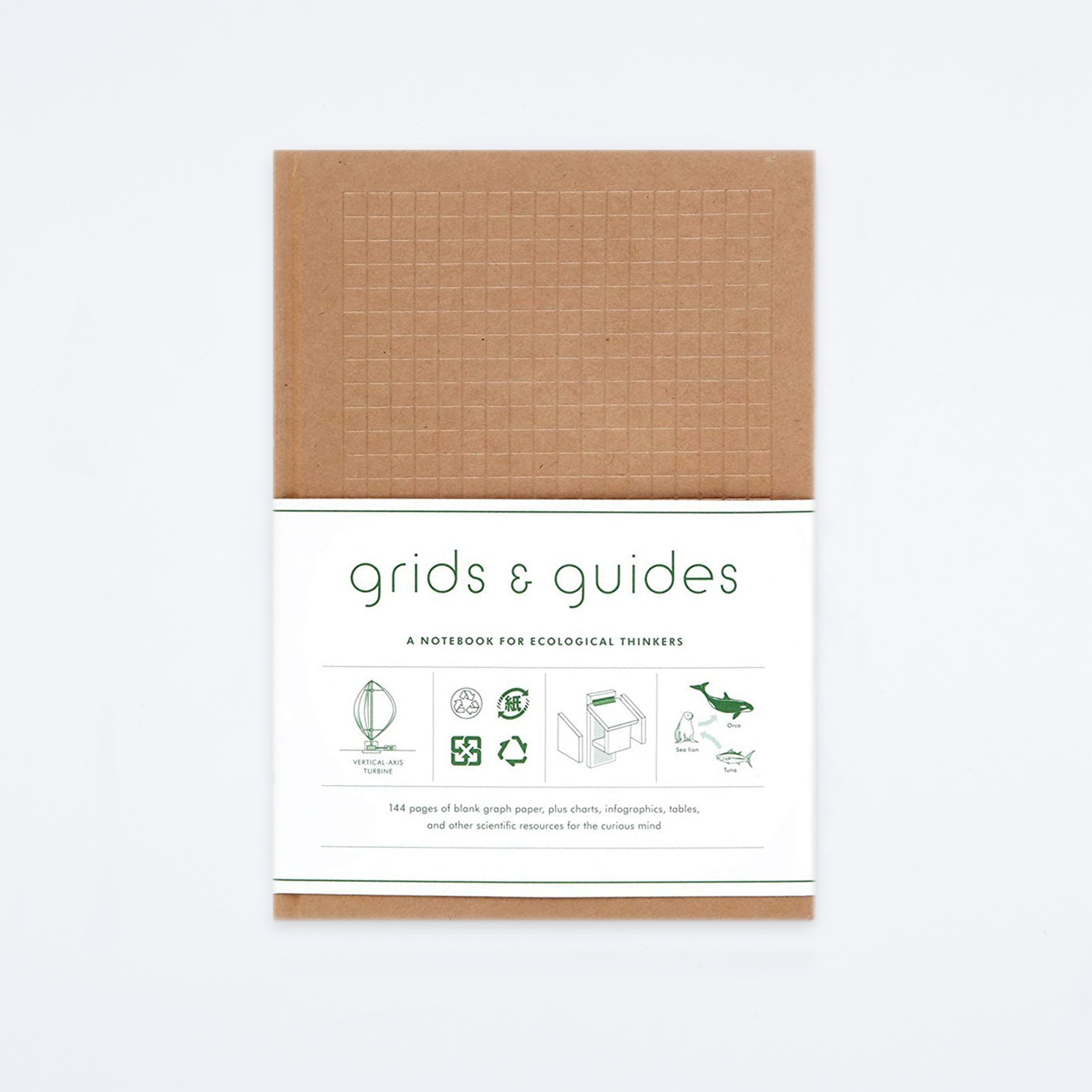 Eco Grids & Guides Notebook