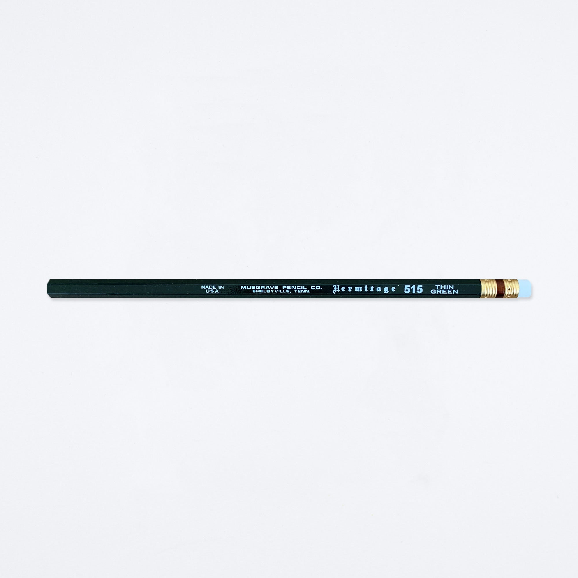 Hermitage Thin Green Pencil