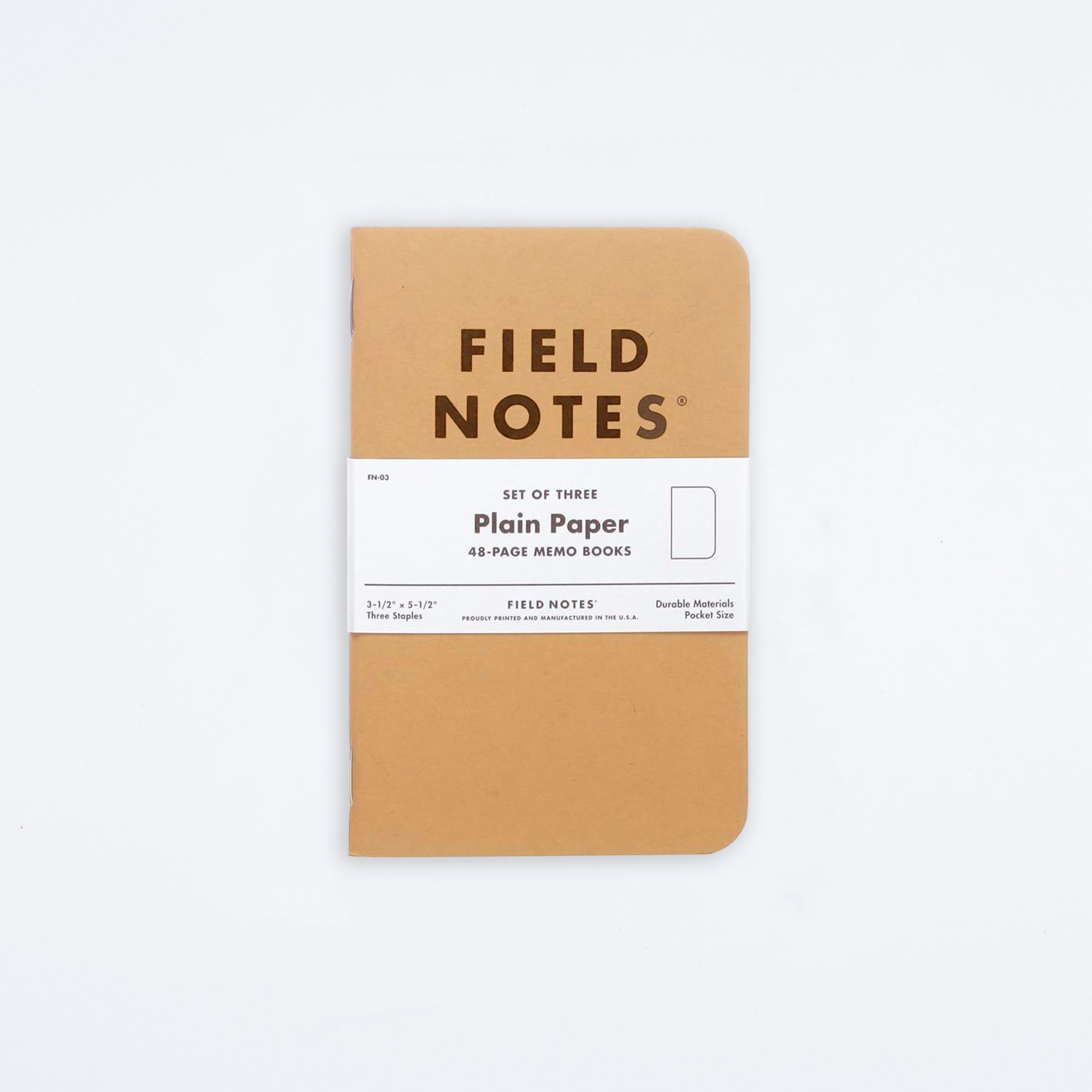 Original Kraft Notebook Set
