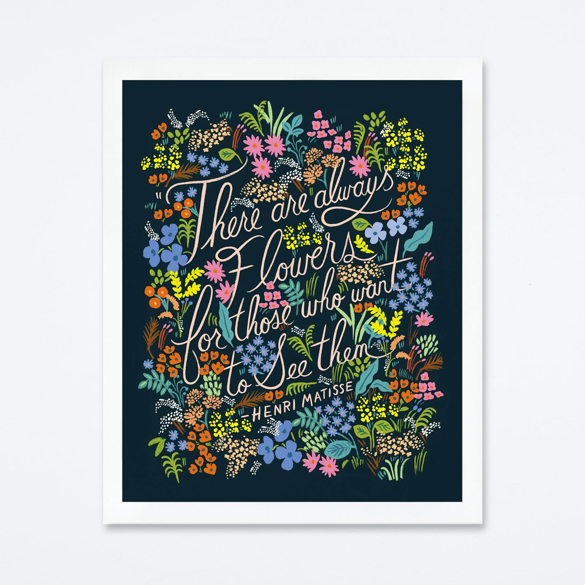 Matisse Quote Art Print