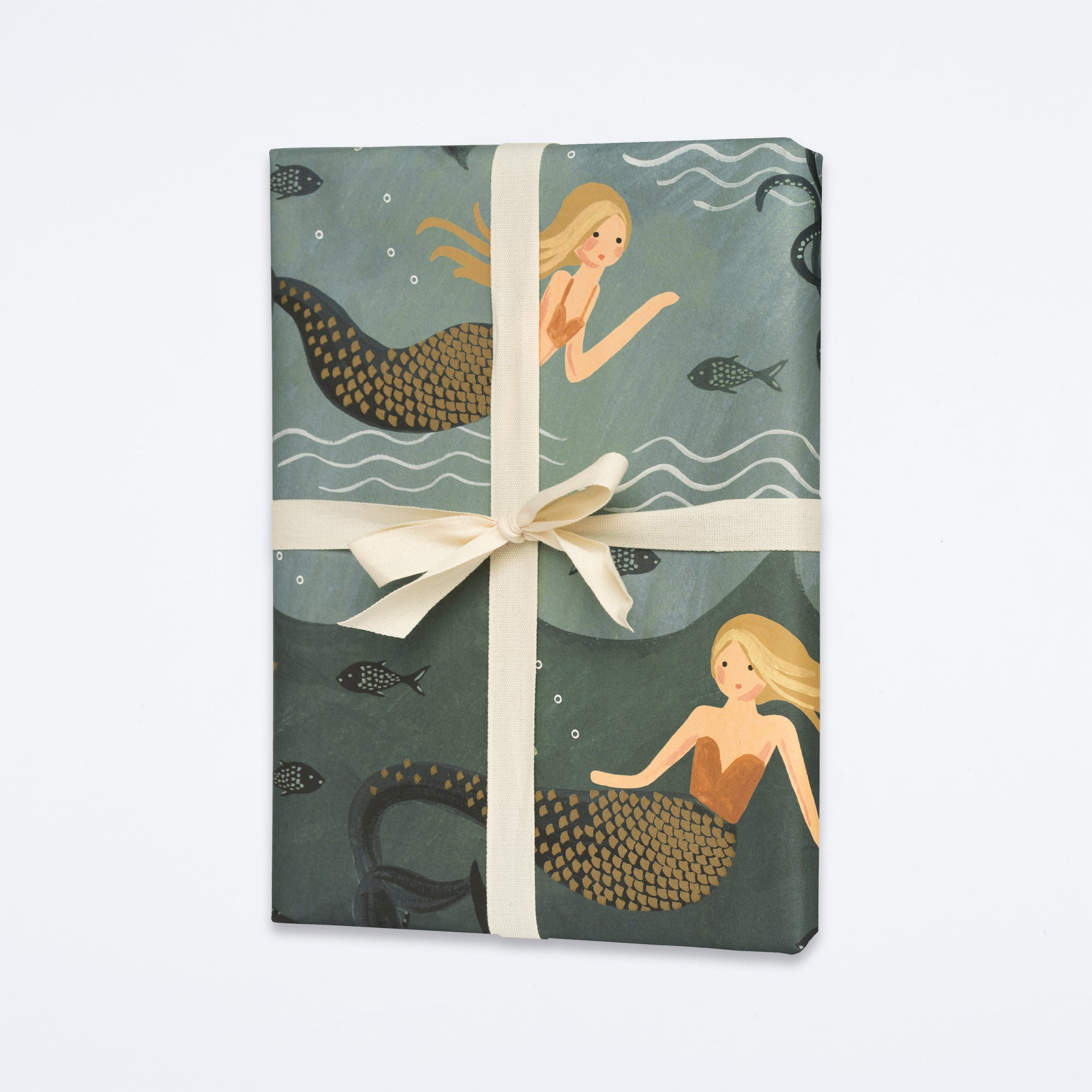 Vintage Mermaid Wrapping Sheet