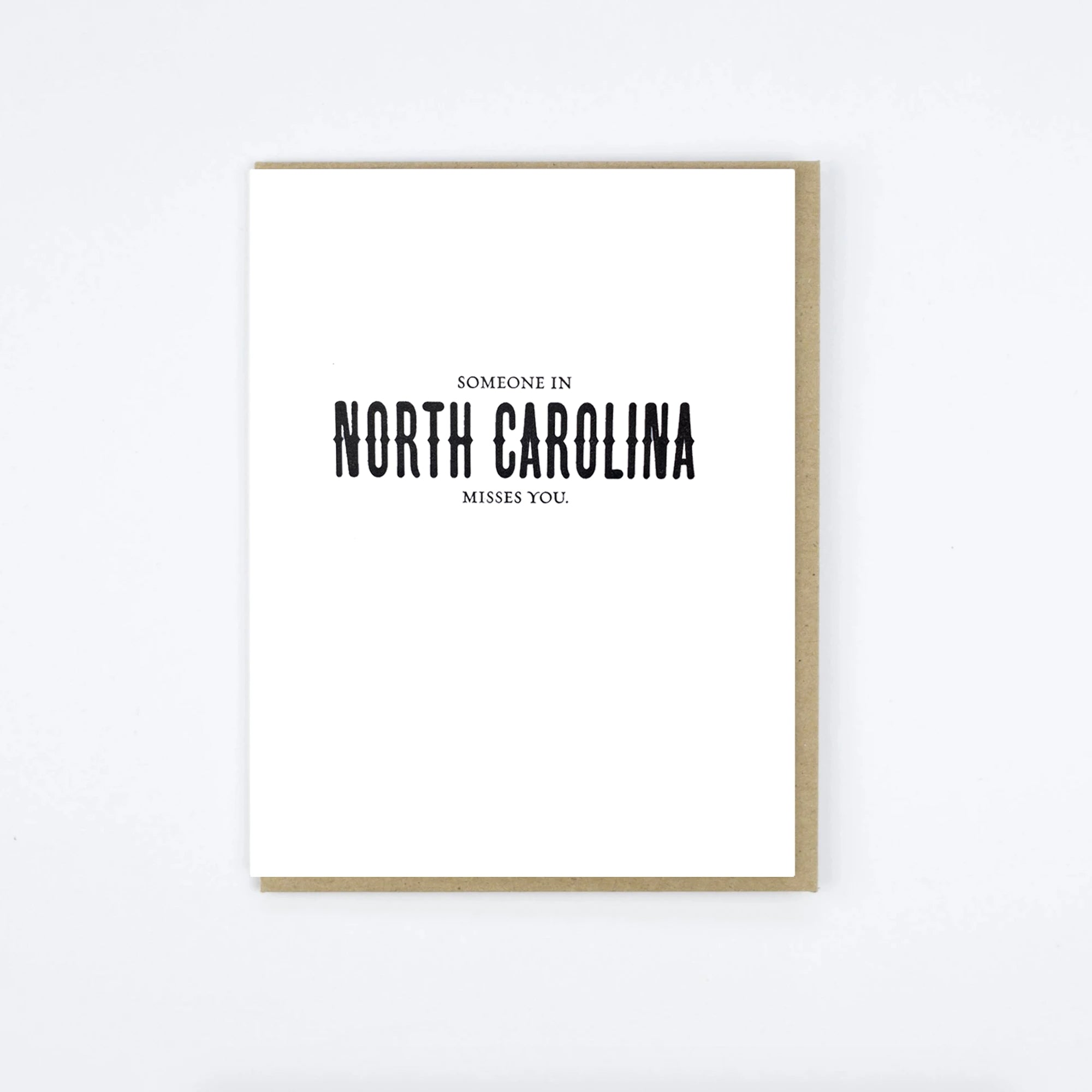 North Carolina Misses Card