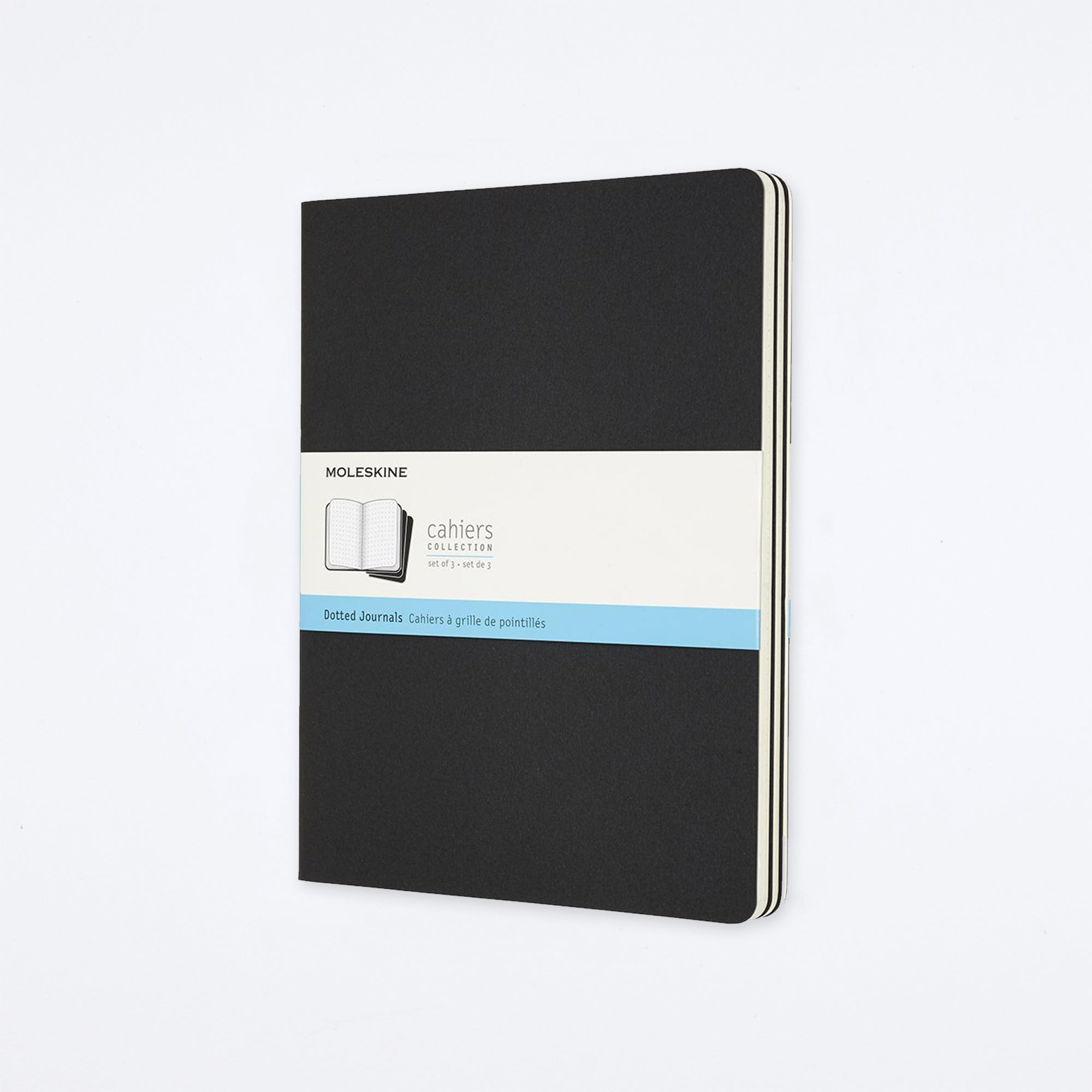 Moleskine Black X-Large Cahier Journals