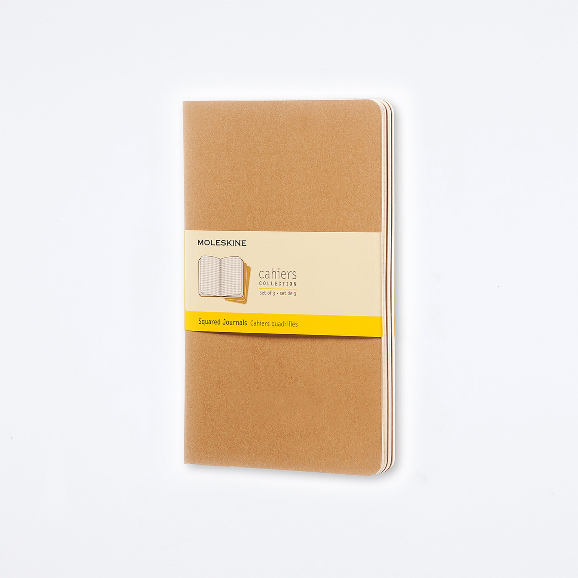 Moleskine Kraft Large Cahier Journals