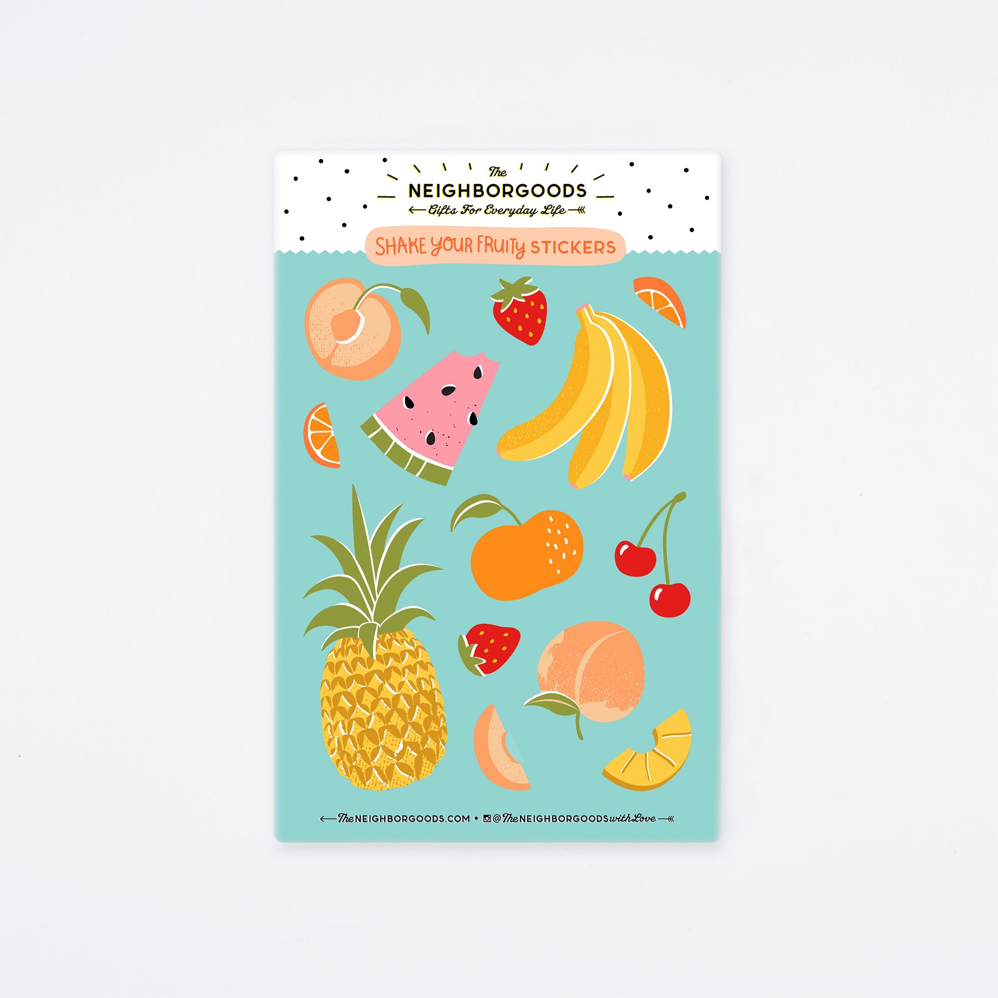 Shake Your Fruity Sticker Sheet