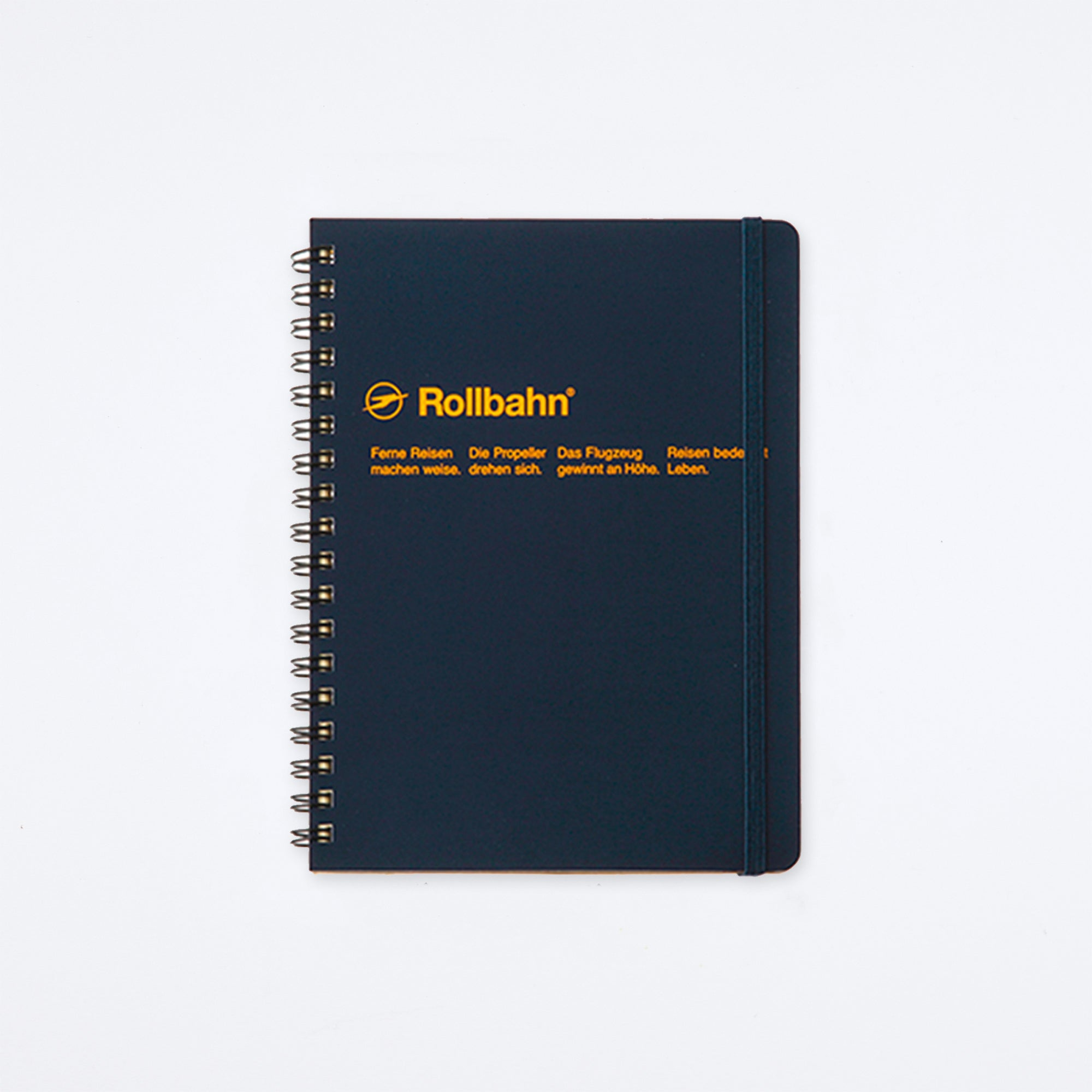 Rollbahn Spiral Large Notebook