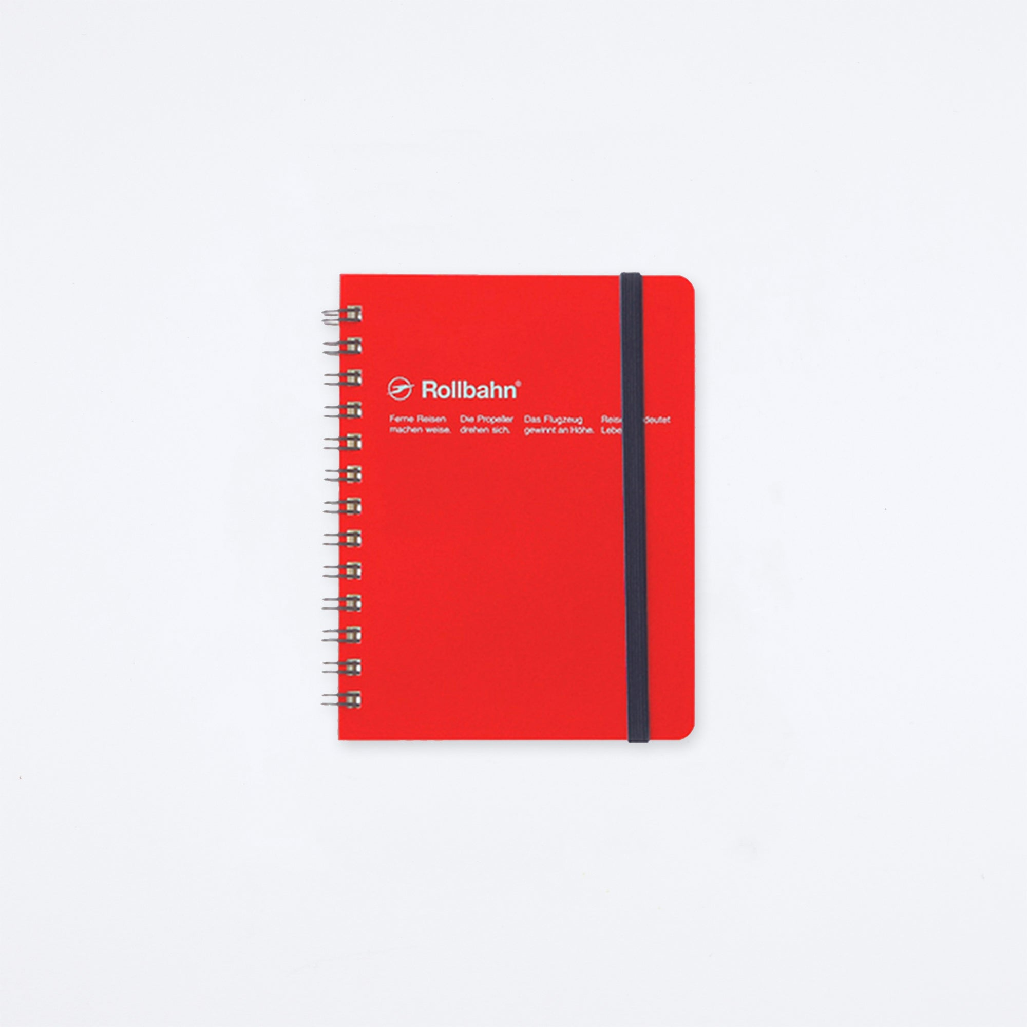Rollbahn Spiral Pocket Memo Notebook