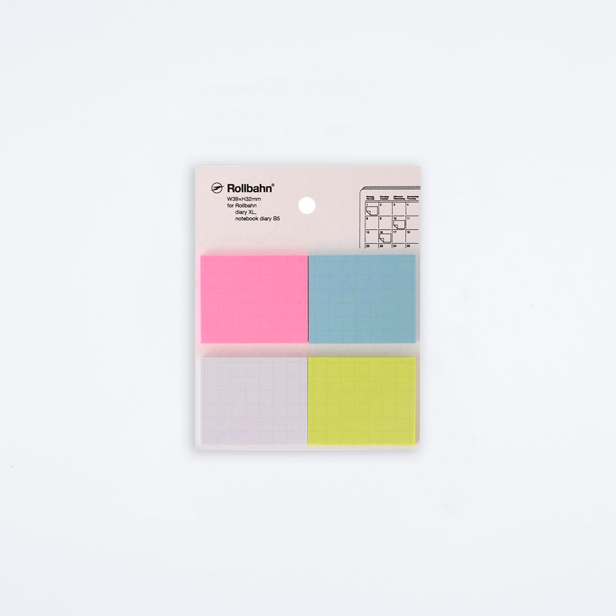 Rollbahn Four Color Sticky Note Set